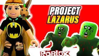 Project Lazarus: ZOMBIES   Roblox Wave 30 #HOW TO PLAY