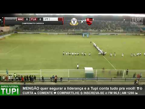 Macaé 1 x 0 Flamengo - 5ª Rodada - Taça Rio - 10/03/2018 - AO VIVO