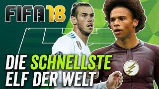 FIFA 18: Die Schnellste Elf der Welt!
