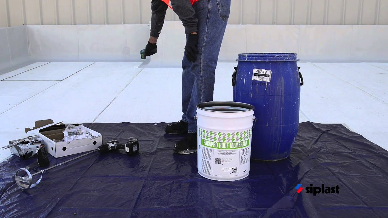 Siplast Parapro Roof Membrane Application Series Step 6