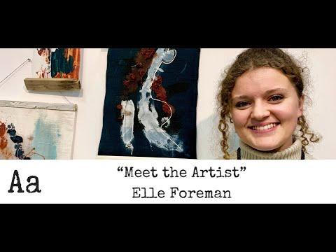 'Meet The Artist' (No: 27) | Elle Foreman | Textile Designer