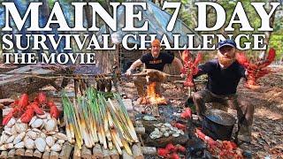 7 Day Catch & C๐ok Survival Challenge - Maine, The Movie
