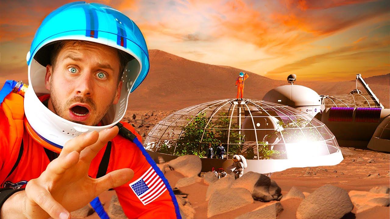 Survival Challenge On MARS! *Simulation*