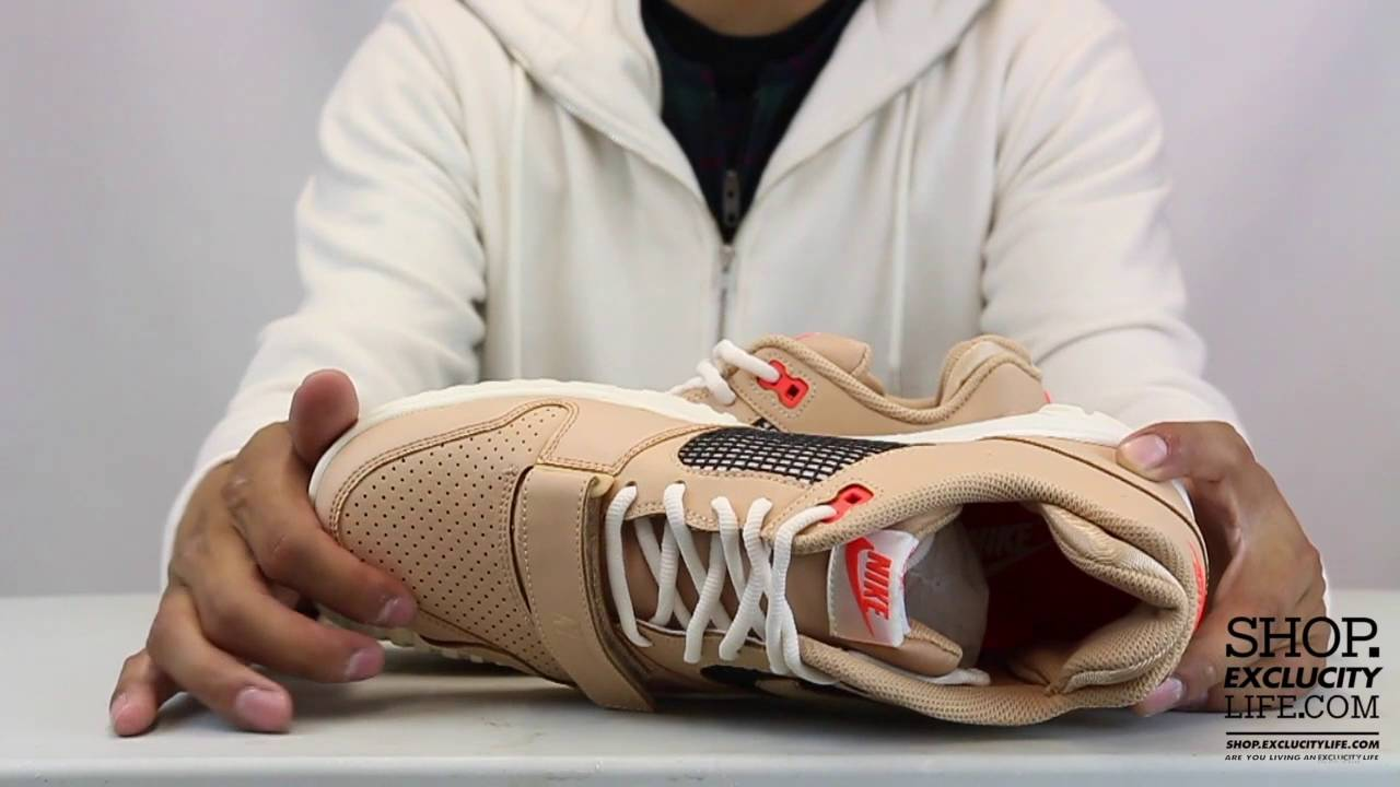 ec1124780d4c Nike Air Trainer 2 Vachetta Tan Unboxing Video at Exclucity - YouTube