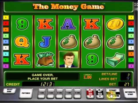 The Money Game - Novomatic slots