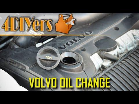 DIY: Volvo T5 C30 S40 V50 C70 Engine Oil Replacement