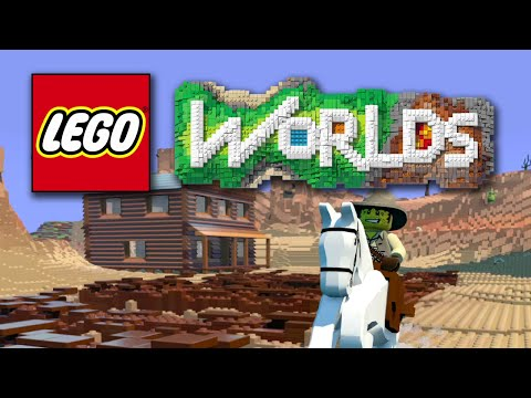 LEGO Worlds: First Impressions (Minecraft style LEGO game)