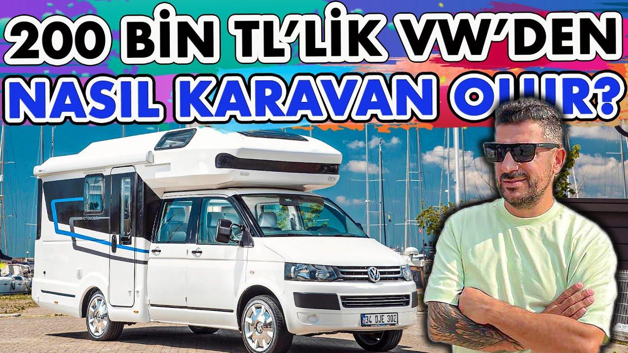 Yerli Karavan | Volkswagen Transporter Karavan ile Tatil Deneyimi