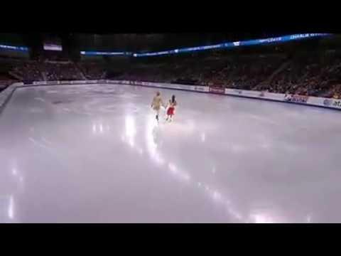 Amazing dance at ice