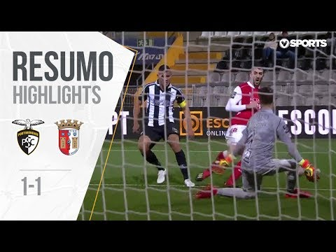 Highlights | Resumo: Portimonense 1-1 Sp. Braga (Liga 18/19 #17)