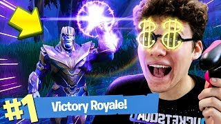 THANOS INFINITY GAUNTLET GAMEPLAY! - Fortnite Battle Royale (OVERPOWERED)