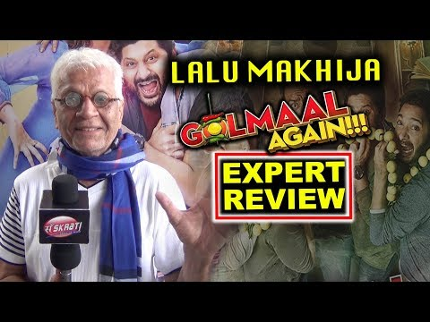 Lalu Makhija Expert Review On Golmaal Again | Ajay Devgn Parineeti Chopra Tabu