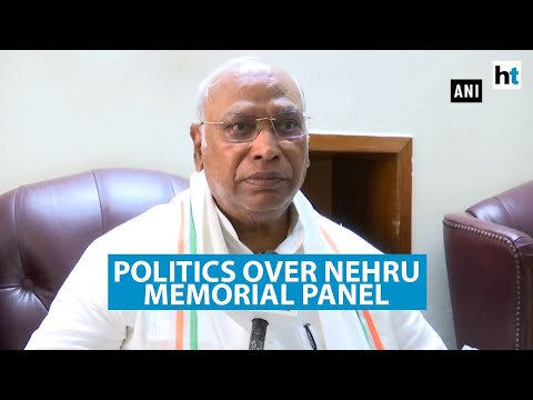 'Congress leaders' removal from Nehru memorial panel unfortunate': Kharge