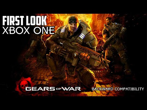First Look: Gears of War Backwards Compatibility Xbox One