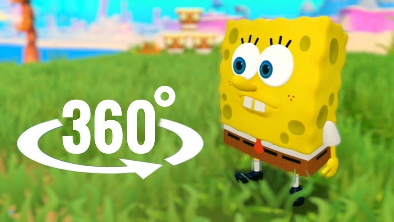 🐙 SpongeBob SquarePants 360 video VR Battle for Bikini Bottom Rehydrated Part 2 Squidward Tentacles