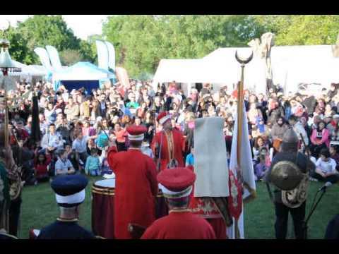 2014 Londra Turk Kültür Festivali Mehteran Olurum Türkiyem -2014 London Turkish Fest