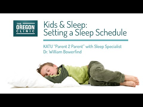 Kids and Sleep: Setting a Sleep Schedule