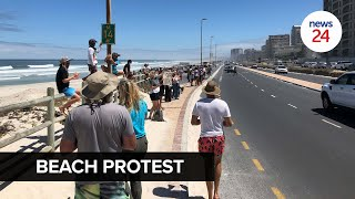 WATCH   Covid-19 regulations: Cape protesters say 'enough is enough', want beaches reopened