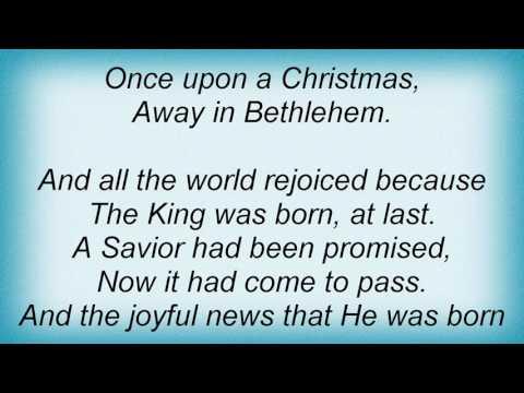 Selah - Once Upon A Christmas Lyrics