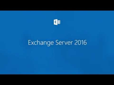 Introducing Exchange Server 2016