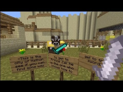Minecraft Xbox - Iron Wolf - City of Nathor - Part 3 on paris disneyland park map, space map, treasure map, car map, freedom map, the old country map,
