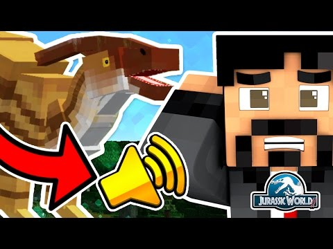 BULL CHASE & TRUMPET SOUNDS FROM PARASAUROLOPHUS | Minecraft Dinosaurs Jurassic World 2