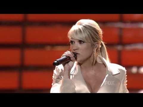 Carrie Underwood (on American Idol Season 7 Finale) - Last Name