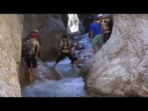 видео: Поход в Чертово ущелье. Ромит. Таджикистан. 2015год