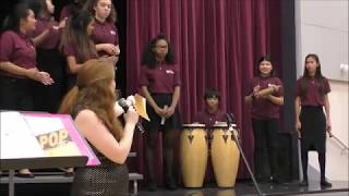 A la Media Noche of Columbia Middle School in Sunnyvale, California Concert Choir