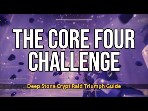 "How to complete ""THE CORE FOUR"" Challenge 