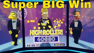 SIMPSONS & Longhorn Deluxe Slots Super Big win+SLOT Machines Bonuses Won.🔴Live stream From PECHANGA
