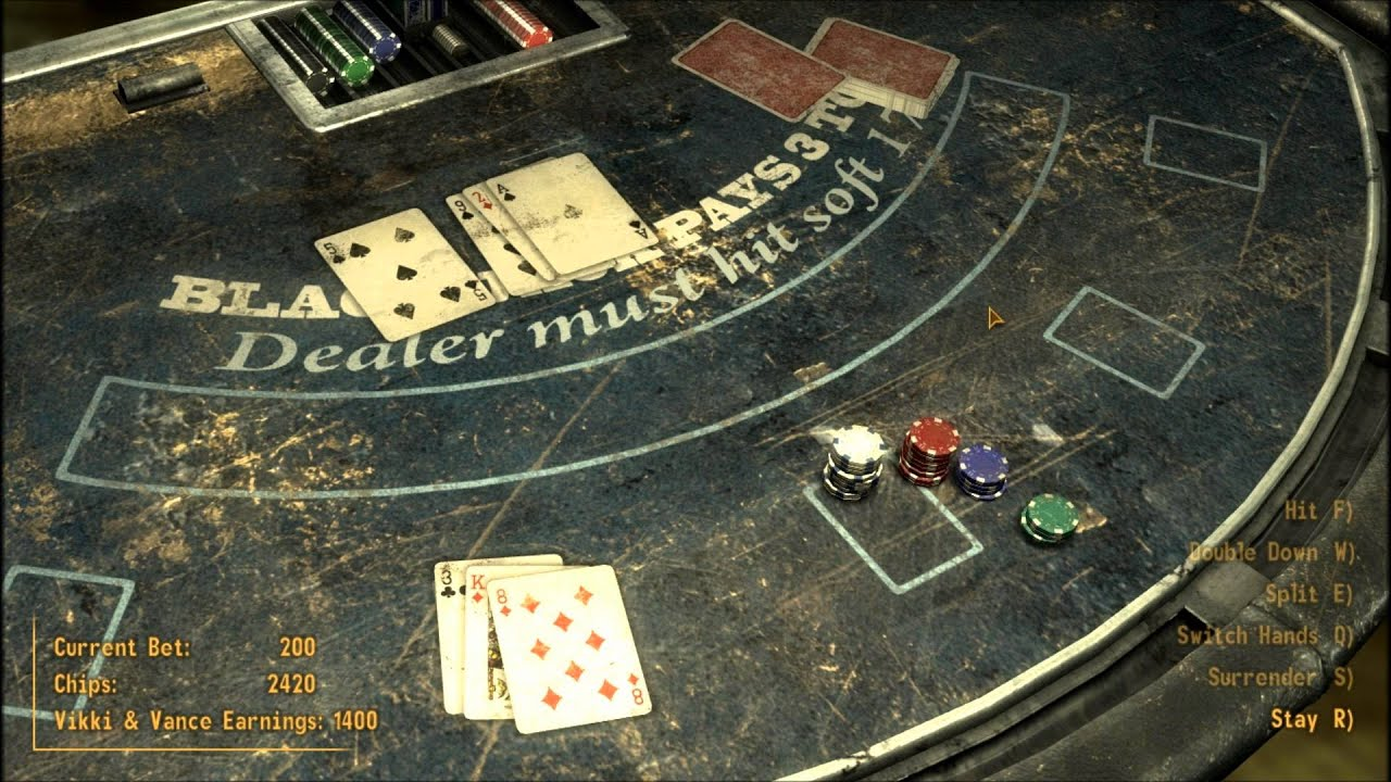 Fallout New Vegas Gambling In Primm And Picking Up ED E