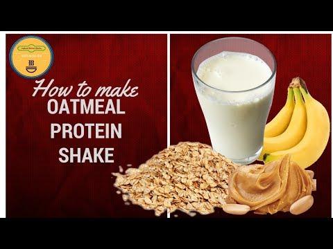 How to make oats milkshake