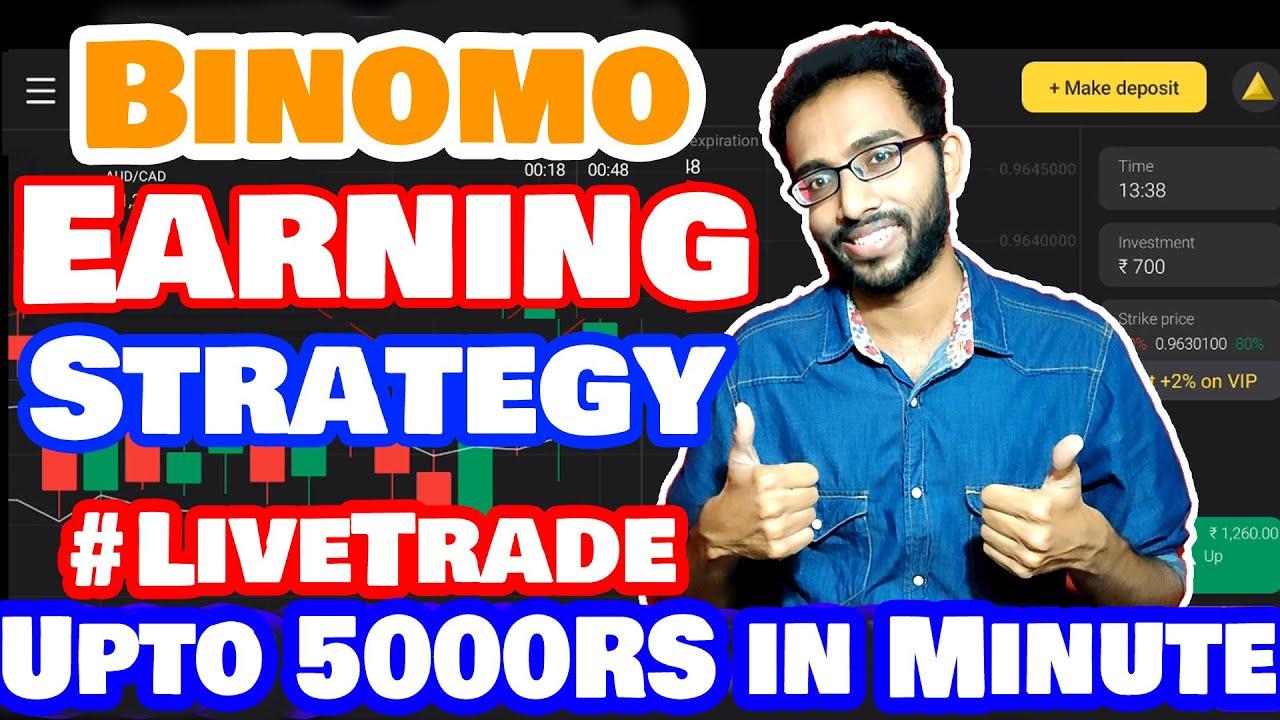 Trading Strategies for Binomo | Binomo Earning Strategy 2020 with Proof