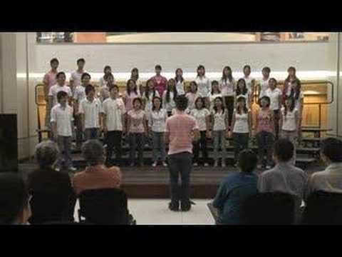 Eusoff Choir 0708 - The Gift to be Simple