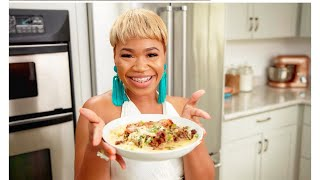 """"""" HOW TO MAKE STUFFED FRIED CHICKEN W/ SMOKED GOUDA GRITS !! TWO WAYS TO MAKE FRIED CHICKEN PART 1"""