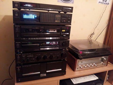 My late 80's Technics HIFI Strereo setup