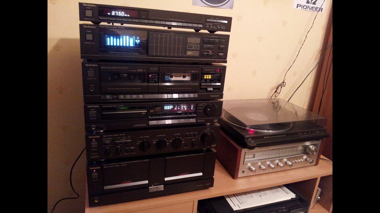receiver technics vintage
