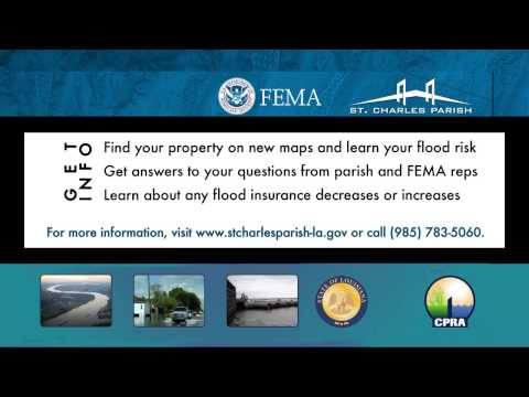 Promo: FEMA Flood Insurance Rate Map Open House is March 25 in Luling