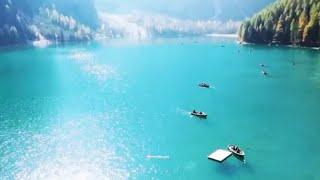 Italy - Dolomiti - Travel - Drone