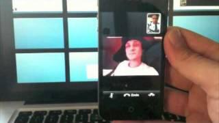 iPhone 4 - FaceTime Videochat Test