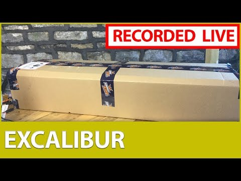 [LIVE] 📦Durafly Excalibur Unboxing & ☕ Chat :)
