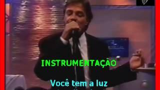 VIDEO KARAOKE FÁBIO JR; PAREÇO UM MENINO