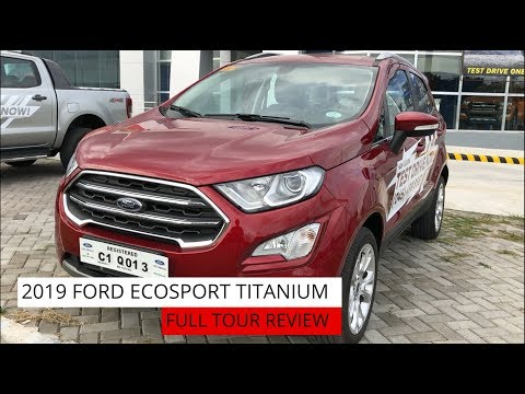 2019 FORD ECOSPORT TITANIUM 1.0L Ecoboost || FULL TOUR REVIEW