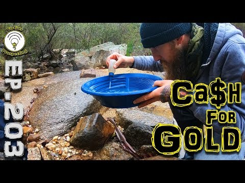 You Can Make Money From Gold Panning!