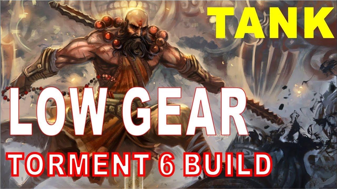 Diablo  Monk Build No Set Items