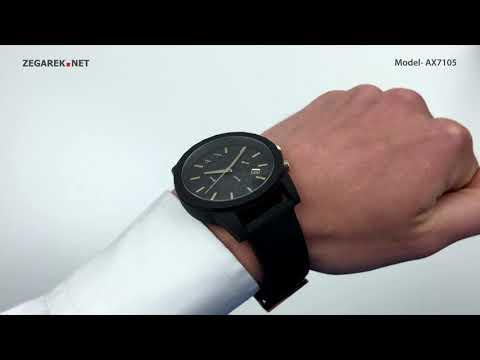 Armani Exchange Fashion AX7105 OUTERBANKS - Zegarek.net