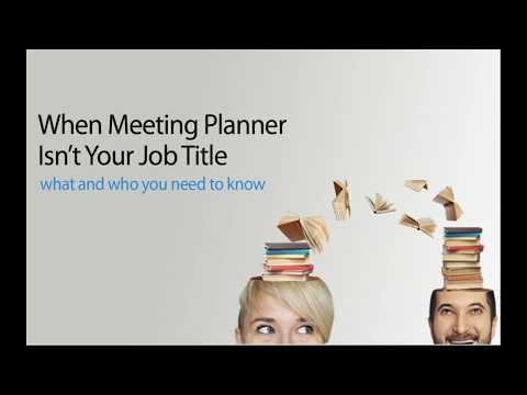 [WEBINAR] Pro Tips For Volunteer and Occasional Meeting Planner | blog.empowerMINT.com
