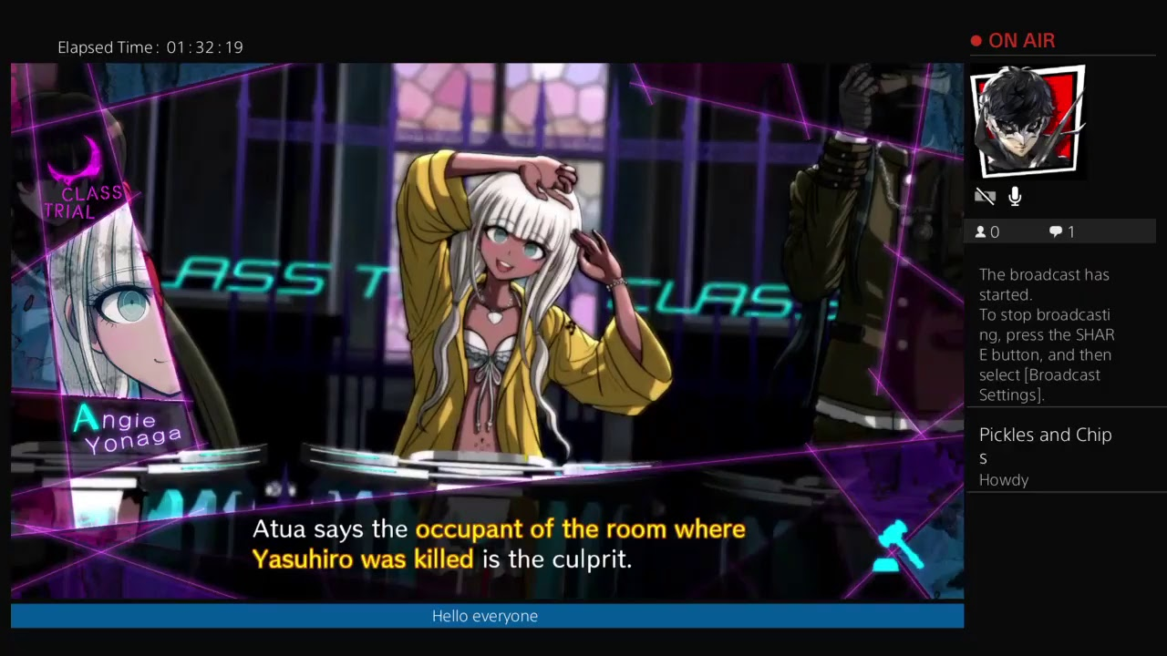 Danganronpa V3 Demo One Shot: A Taste of Craziness