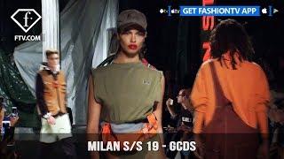 Milan Fashion Week Spring/Summer 2019 - GCDS   FashionTV   FTV
